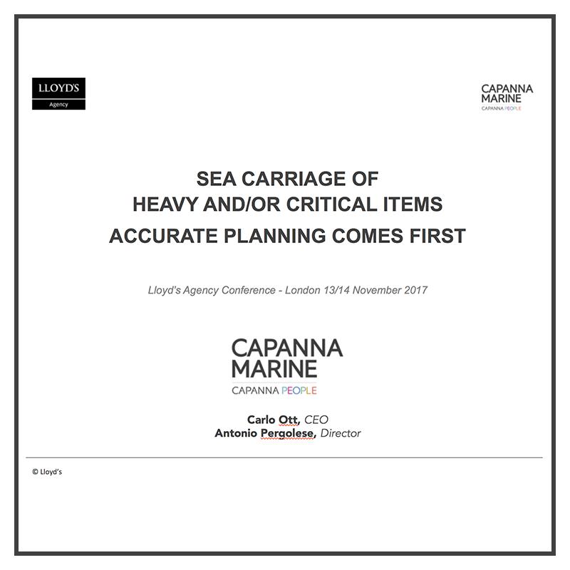 Capanna Marine Lloyds Londra